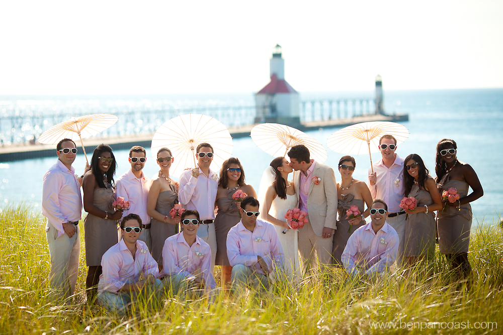 Beach Weddings In St. Joseph Michigan