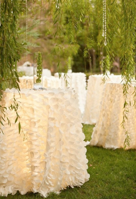 Wedding Table Linen Ideas Part - 35: Lights-with-sheer-fabric-table-cloths.001