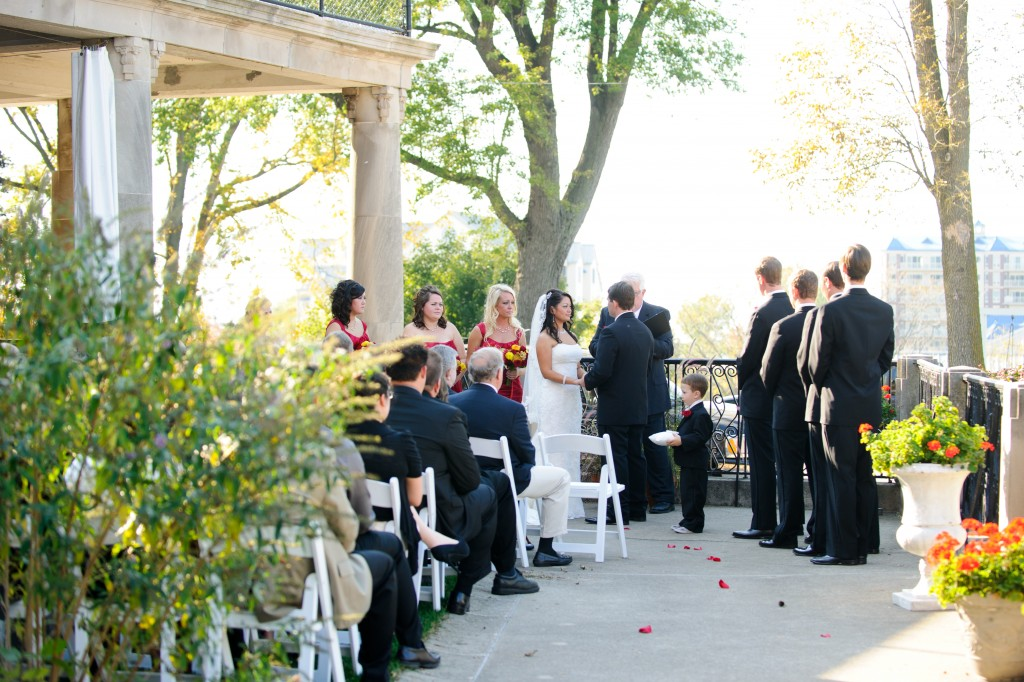 Outdoor Wedding Lake Michigan
